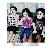 Birthday Princess Shower Curtain by Kate Word