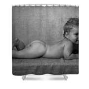 Birthday Suit Shower Curtain