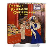Biscuits Pernot Shower Curtain