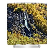 Bishop Creek Falls Shower Curtain