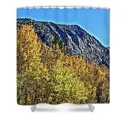 Bishop Creek Mountains Shower Curtain