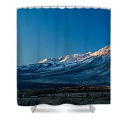 Bishop Dawn 2 Shower Curtain