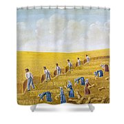 Bishop Hill Colony, 1875 Shower Curtain