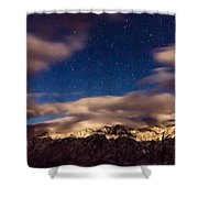 Bishop Night Shower Curtain