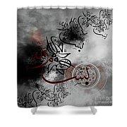 Bismillah 067h Shower Curtain