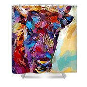 Bison 2 Shower Curtain