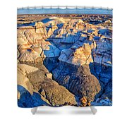 Bisti Badlands 10 Shower Curtain