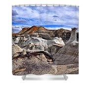 Bisti Badlands 7 Shower Curtain