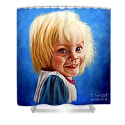 Bite Your Tongue  Shower Curtain