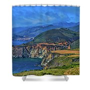 Bixby Bridge 1 Shower Curtain