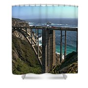 Bixby Creek Bridge 5 Shower Curtain