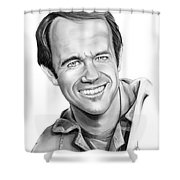 Bj-mike Farrell Shower Curtain