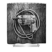 Black And Decker Drill Shower Curtain