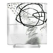 Black And White # 10 Shower Curtain