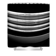 Black And White 1 Shower Curtain