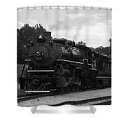 Black And White 4501 Shower Curtain
