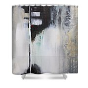 Black And White Drama 1 Shower Curtain