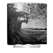 Black And White Room Shower Curtain