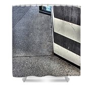 Black And White Sephora Shower Curtain