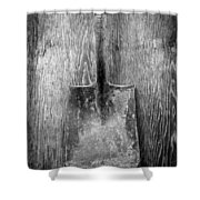 Square Point Shovel 2 Shower Curtain