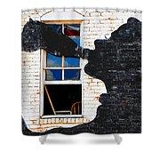 Black Betty Shower Curtain