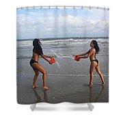 Black Bikinis 61 Shower Curtain
