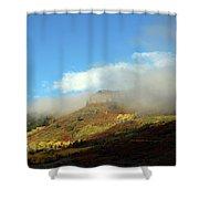 Black Canyon 5 Shower Curtain