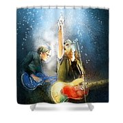 Black Country Communion 02 Shower Curtain