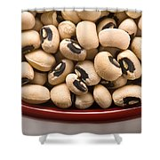 Black Eyed Peas Shower Curtain