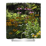 The Field Of Flowers  Shower Curtain