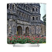 Black Gate Trier Shower Curtain