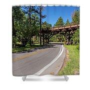 Black Hills Bridge 1 Shower Curtain