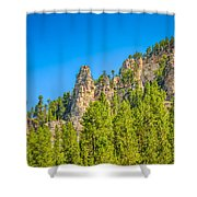 Black Hills Majesty Shower Curtain