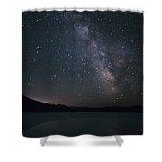 Black Hills Nightlight Shower Curtain