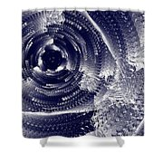 Black Hole #66v22 Shower Curtain