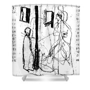 Black Ivory Issue 1 Page 11 Shower Curtain