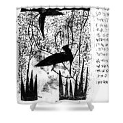 Black Ivory Issue 1 Page 5 Shower Curtain