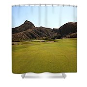 Black Jack's Crossing Golf Course Hole 11 Shower Curtain