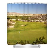Black Jack's Crossing Golf Course Hole 12 Shower Curtain