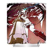 Black Rock Shooter Shower Curtain