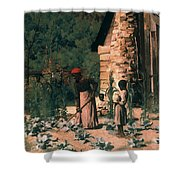 Black Sharecroppers, 1879 Shower Curtain