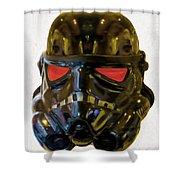 Black Stormtrooper - Pa Shower Curtain