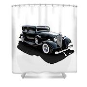 Black Tie Affair Shower Curtain