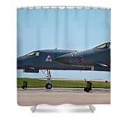 Black Widow And Old Crow Express 3 Shower Curtain