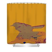 Blackbird 2 Shower Curtain