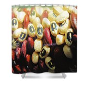 Blackeyes And Kidneys Shower Curtain