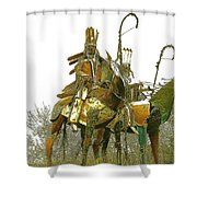 Blackfeet Wariors Shower Curtain