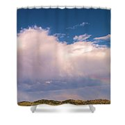 Blackhawk Sd Rainbow Shower Curtain