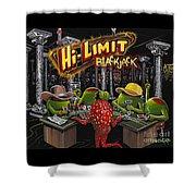 Blackjack Pimps Shower Curtain