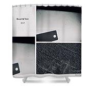 Blackout  Shower Curtain